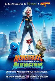 ver monstruos contra alienigenas