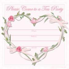 Baby Shower Invitation Cards Templates Free Printable Tea Party Invitations Tea Party Invitations Tea