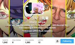 Robot Chicken on Twitter   quot This account imagines a Larry David     Twitter Robot Chicken on Twitter   quot This account imagines a Larry David Japanese dating sim holy shit YES https   t co  XODKWadiK quot