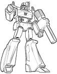 Megatron Transformers Coloring Page - Robots Coloring Pages ...