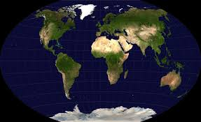 Peters Projection World Map by Why Maps Are Wrong Chalkdust