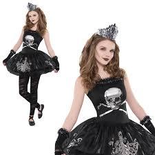Girls Zombie Halloween Costumes Girls Zomberina Kids Zombie Ballerina Halloween Fancy Dress
