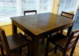 Ana White Tryde Counterheight Kitchen Table DIY Projects - Counter height kitchen table