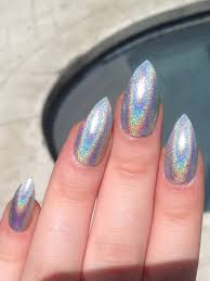 nails stiletto nails holographic nails holo