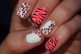 acrylic nail designs leopard print image collections nail art