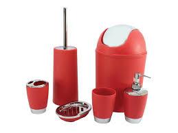 White Bathroom Accessories Set by Bathroom Great Red And White Bathroom Accessories Set For Modern