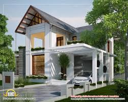 Single Story House Styles Modern Single Story Hillside Hoe Plans Pictures Sloping House