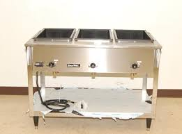 Vollrath Steam Table by Vollrath Servewell 3 Bay Electric Steam Table New 38213 Ebay