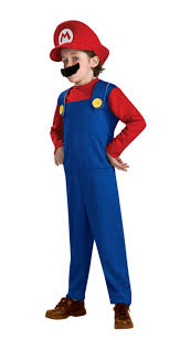 kids halloween costumes usa amazon com super mario brothers mario costume small