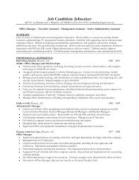 Combination Resume Format Office Assistant Resume Template Zuffli