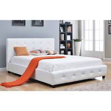 Best Beds Images On Pinterest  Beds Bedroom Ideas And - White tufted leather bedroom set