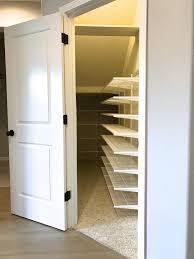 best way organize closet under stairs roselawnlutheran