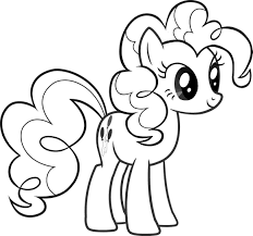 pinkie pie coloring page my little pony pinkie pie coloring page