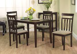 Five Piece Dining Room Sets August Grove Vivien 5 Piece Dining Set U0026 Reviews Wayfair