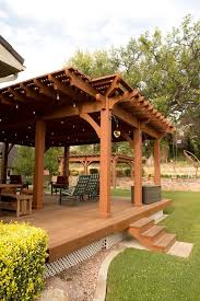 Timber Frame Pergola by Enjoying Their Timber Frame Pergola So Much The Family Decided To