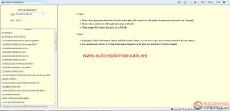 repair and service manual free auto repair manuals page 27