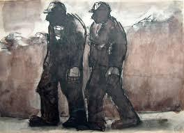 Herman, Josef « Moma Wales - TC110-Josef-Herman-Two-Miners-on-the-Road