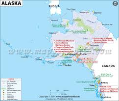 Political Map Of United States And Canada by Alaska Map Map Of Alaska Ak