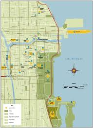 Grant Park Chicago Map by Portfolio Patti Isaacs Production And Management