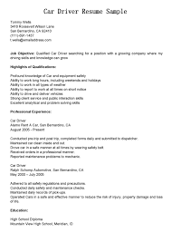 12 Amazing Transportation Resume Examples Livecareer by Warehouse Delivery Driver Job Description In Pdf Categories