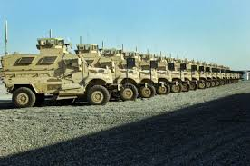 of an estimated 7,000 MRAP
