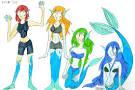mermaid transformation stories