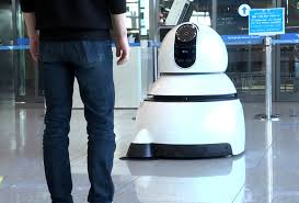Cleaning Robot by Lg U0027s New Airport Robots Will Guide You To Your Gate And Clean Up