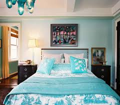 Turquoise Paint Color Eclectic Living Room Benjamin Moore - Turquoise paint for bedroom