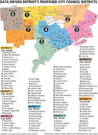 Detroit Michigan Map by Detcharter Action Issues