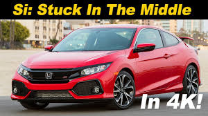 2018 honda civic si review and road test detailed in 4k uhd youtube
