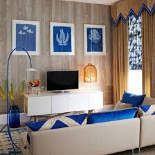 Retrochic Room Ideas Decorating Ideal Home - Wallpaper living room ideas for decorating