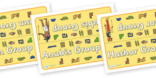 class table group signs ancient egyptians ancient egyptian