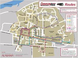 Greyhound Routes Map by Bus Routes U2013 Crimson Ride The University Of Alabama