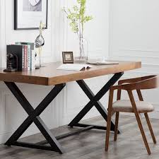 table solid wood dining table combination iron cafe tables and