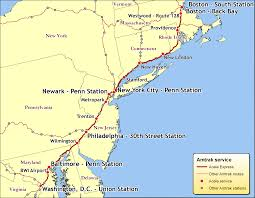 Amtrak Capitol Corridor Map by Northeastern Us Maps Northeast Region Usa Map Northeast Region