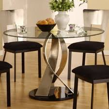 Round Dining Table Sets For 6 Glass Round Dining Table Set Glass Round Dining Table Ideas
