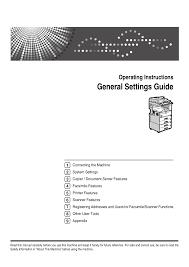 download free pdf for ricoh aficio cl5000 printer manual