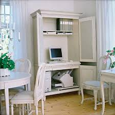 Small Home Office Cabinets Enhancing Space Saving Interior Design - Home office cabinet design ideas