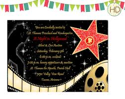 hollywood theme party invitations red carpet centerpiece