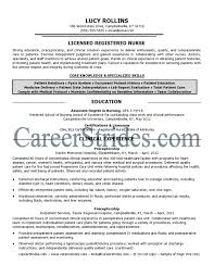 Job Resume With No Experience by Orthopedic Nurse Resume Resume For Your Job Application