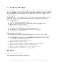 Sample Dental Hygienist Resume by Resume Dental Hygienist Resume
