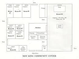 Community Center Floor Plans Community Center U2013 New Song Community Church