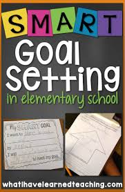 ideas about Student Goal Settings on Pinterest   Student     SMART Goal Setting in elementary school  Help students set SMART goals by setting strategic  measurable goals with an action plan that are realistic and