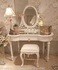 White Shabby Chic Dressing Table by Amy Antoinette Beauty Blog Shabby Chic Dressing Table