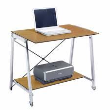 minimalist desk with storage