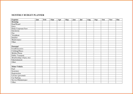 Project Cost Tracking Spreadsheet 10 Monthly Budget Planner Spreadsheet Excel Spreadsheets Group