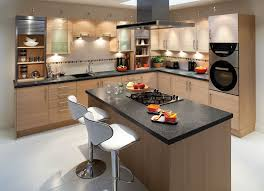 Kitchen Renovation Ideas 2014 Traditional White Kitchen Design Ideas With Wooden Island Granite