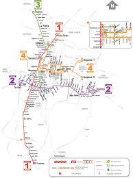 Mexico Cities Map by Sistema De Transporte Colectivo Metro