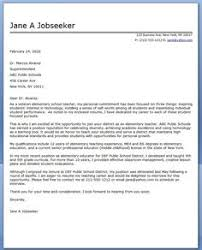 Cover Letter For Resume Examples For Students by Teacher Resume And Cover Letter Examples Cover Letter Format