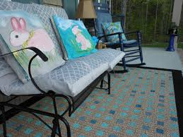 How To Clean An Outdoor Rug by How To Paint A Rug For Your Porch Youtube